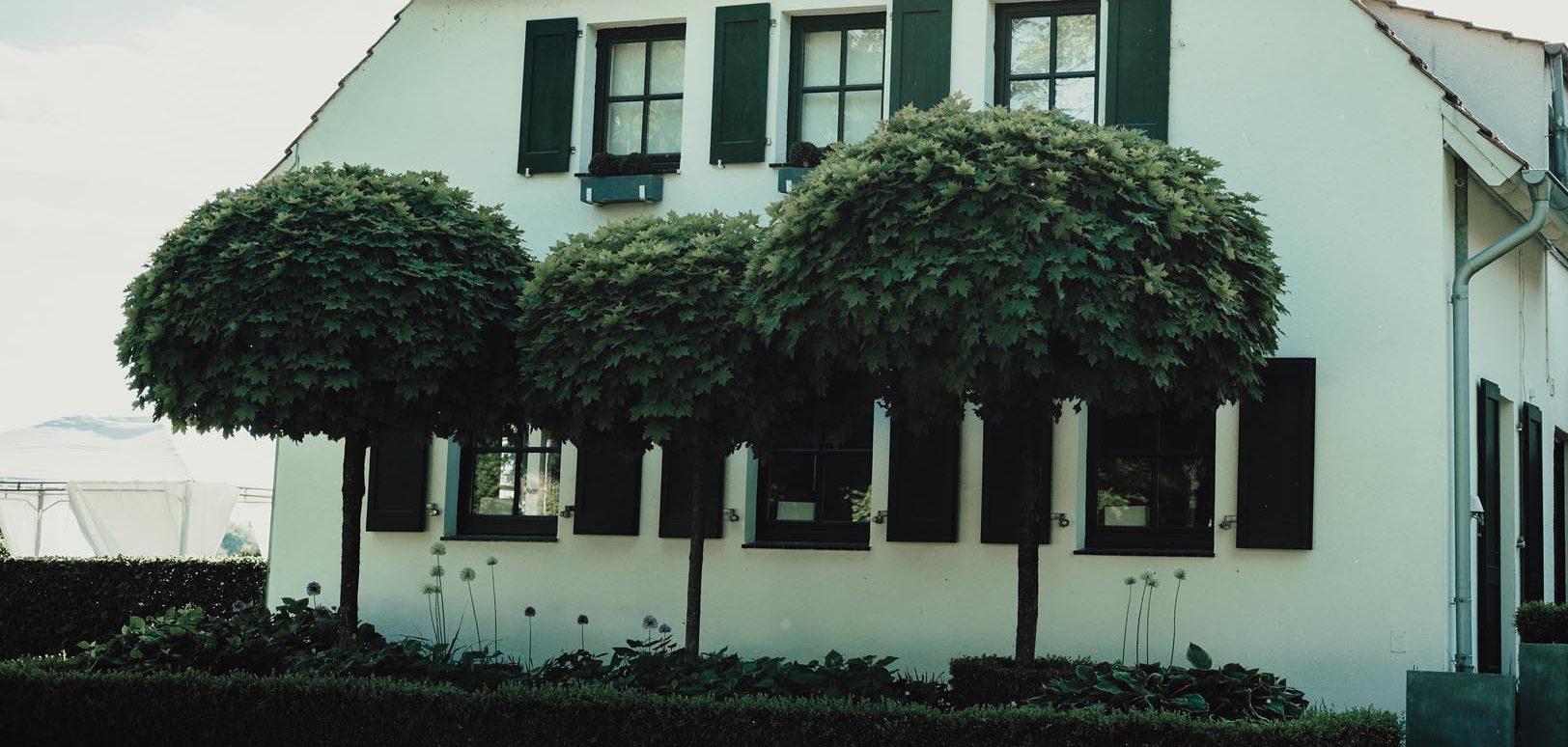 Gebäude Nierswalder Kuhhof von vorne